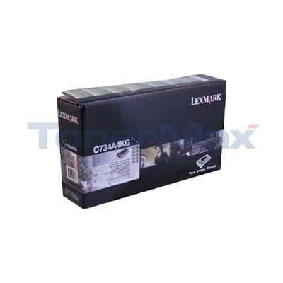 LEXMARK C734 TONER CARTRIDGE BLACK RP TAA